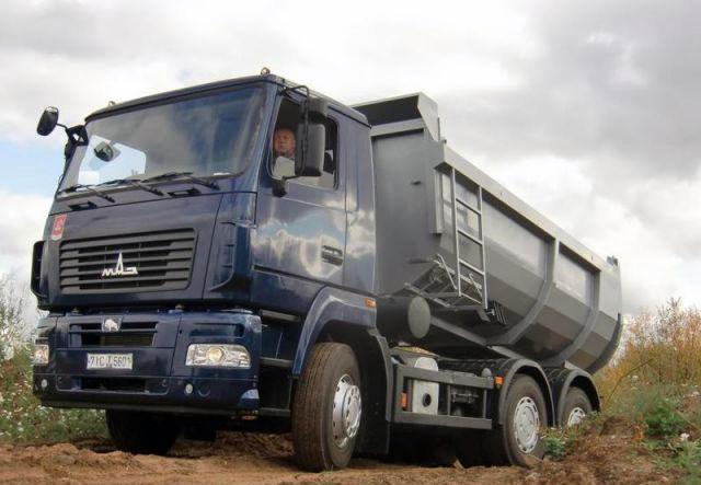 МАЗ представил свои новые грузовики » Новости грузоперевозок ... | 443x640