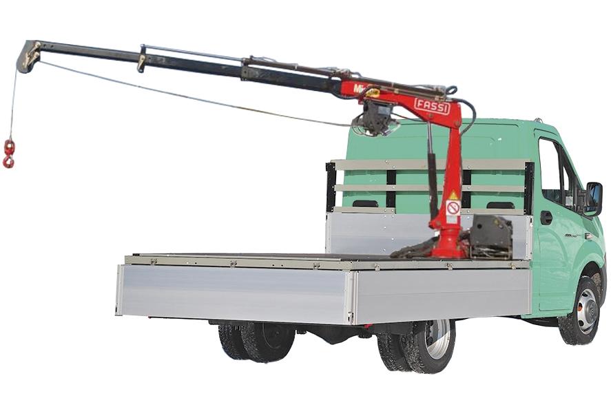 141Самодельный манипулятор для газели