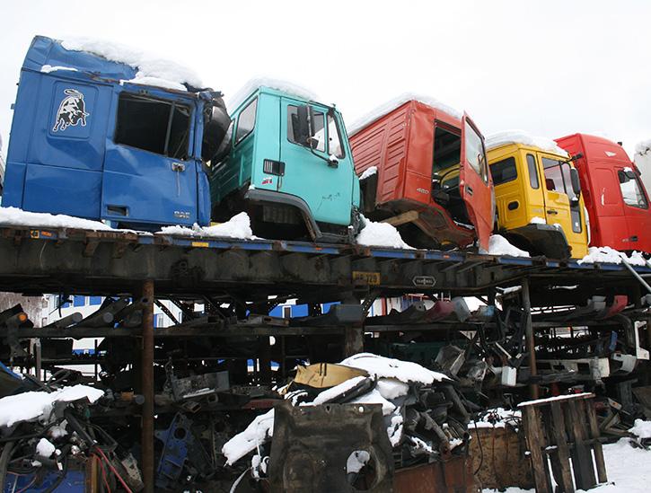 Картинки по запросу разборки грузовиков в спб