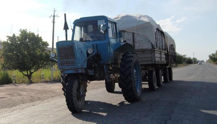История трактора МТЗ - fishki.net