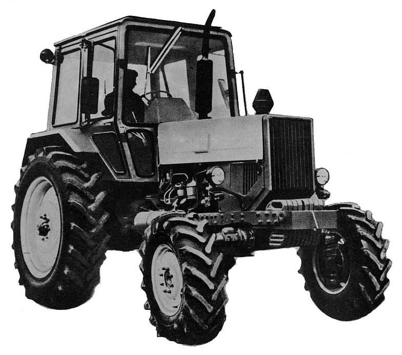 Продается трактор МТЗ-82 - МТЗ 82, 1984 - Тракторы и.