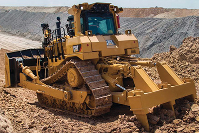 Обновленный бульдозер Cat D9T с системой Automated Blade Assist